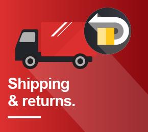 York Fitness Shipping & Returns