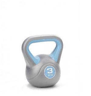 York Fitness 3kg Vinyl Kettlebell