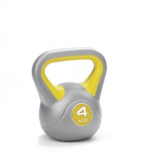 York Fitness 4kg Vinyl Kettlebell