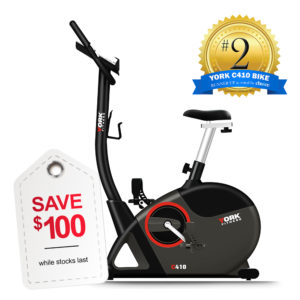 York Fitness C410 Exercise Bike In Stock SAVE $100