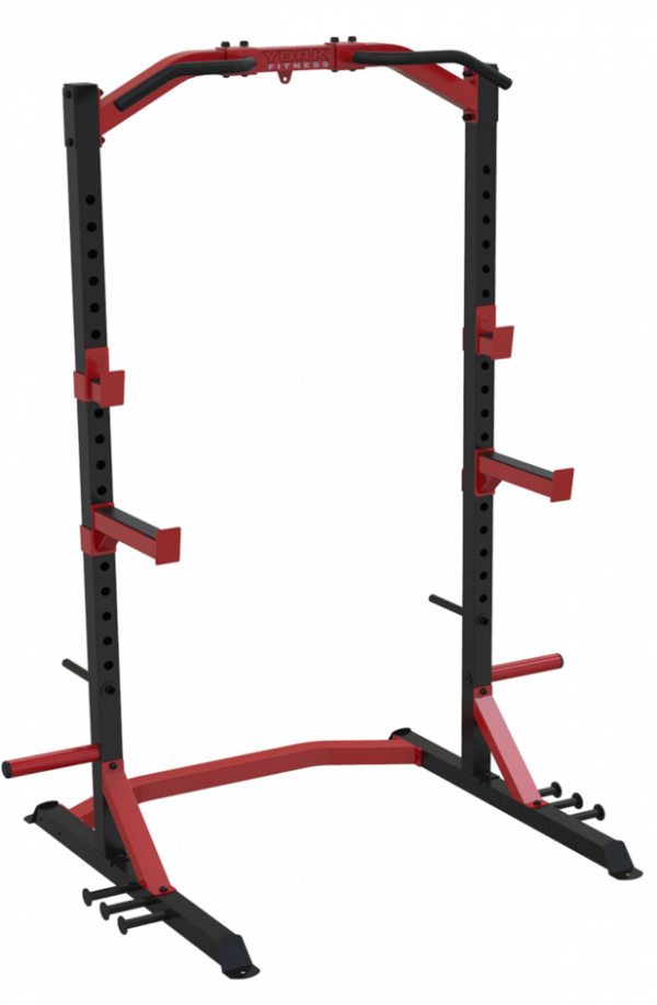 best half rack australia York Fitness Delta Utility Half Lifting Rack
