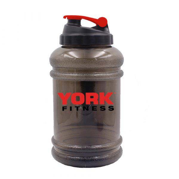 York Fitness Hyperthirst 2.2L Water Bottle Smokey Black