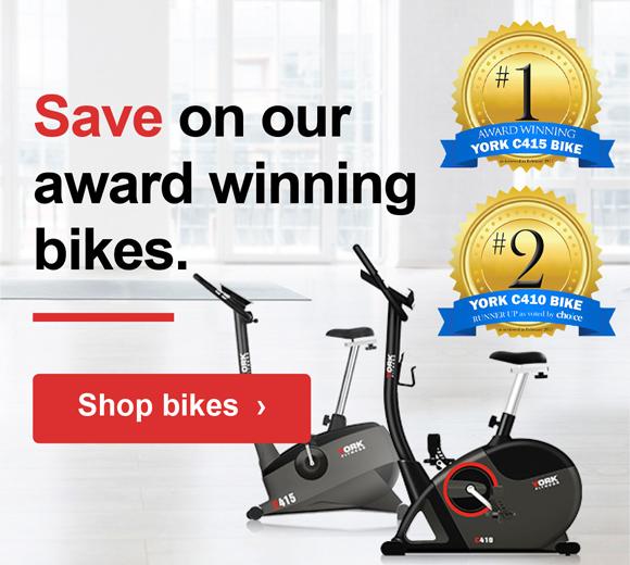 York Fitness Award Winning Bikes Sale Banner