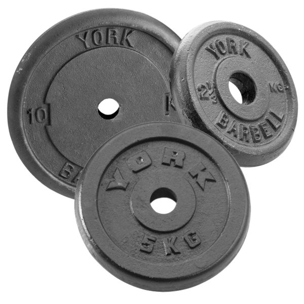 York Fitness Cast Iron Plates