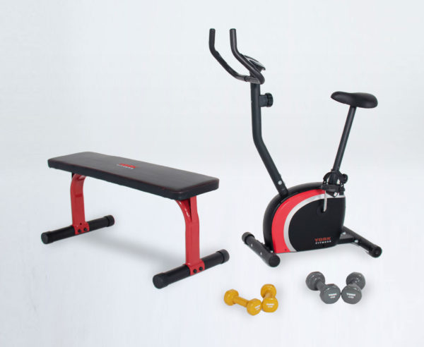 York Fitness starter pack with bike