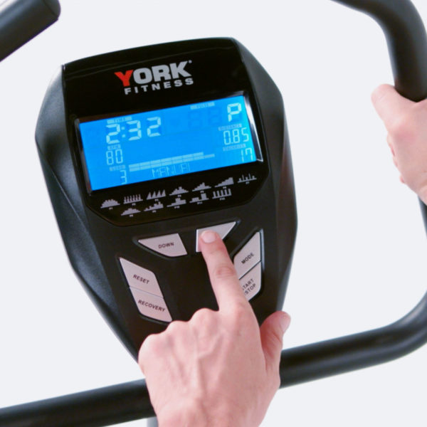 York Fitness C410 Bike Console