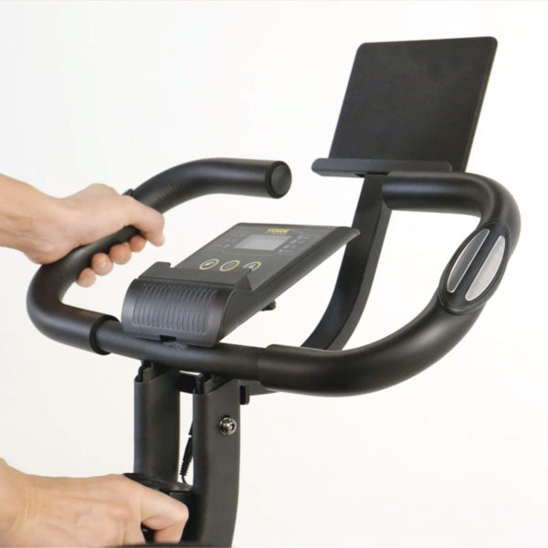 York Fitness Compact X Exercise Bike LCD screen
