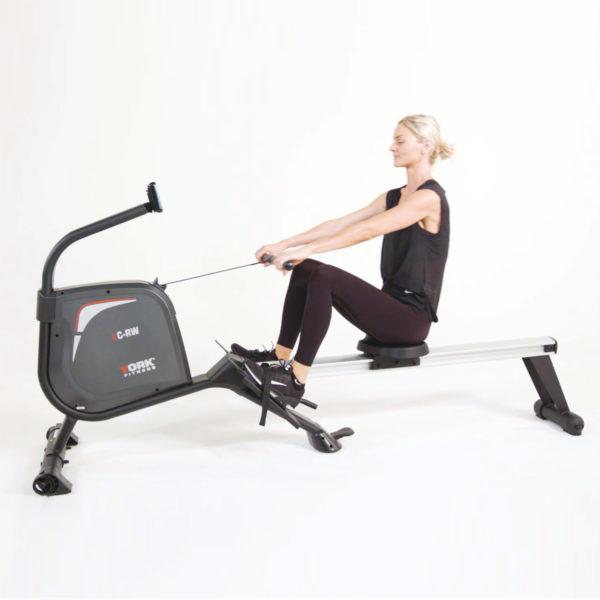 York Fitness LC-RW Rower model rowing