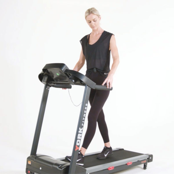 York Fitness T700 Treadmill model walking