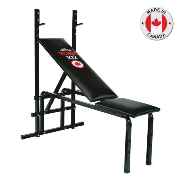York Fitness 102 Barbell Bench
