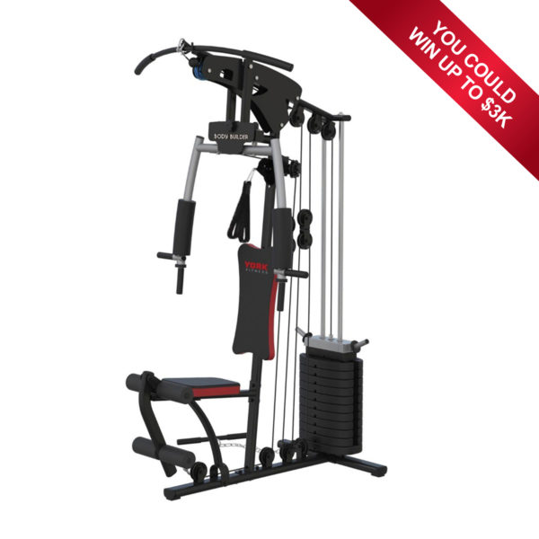 York Fitness Body Builder - Win Back Your Purchase