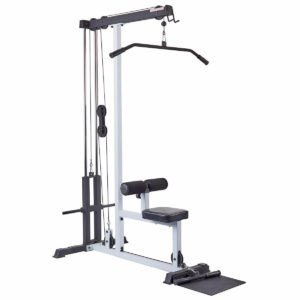 Lat Pulldown Pulley Machine. Fitness Training Series by York Fitness.