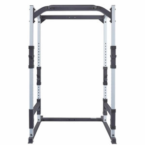 Fitness Training Series Power Cage + Hi and Low Pulley and Weight Plate Storage